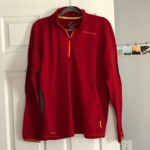 Mens Small Nike Livestrong Drifit Pullover